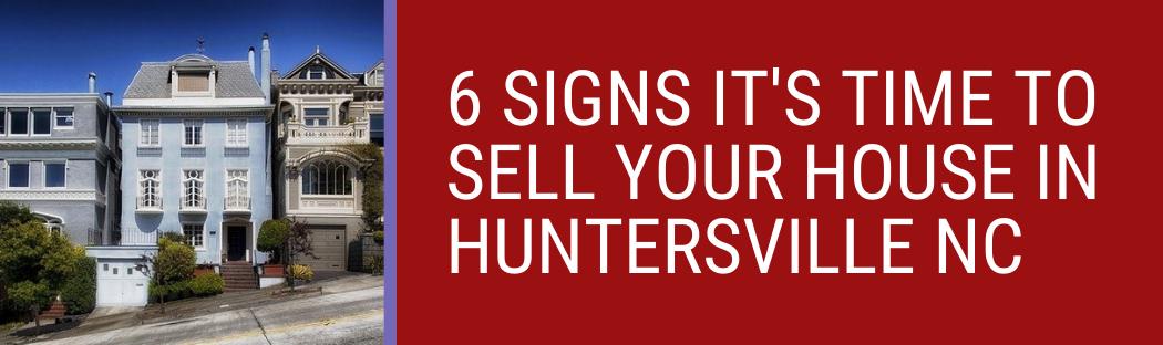 We buy houses in Huntersville NC