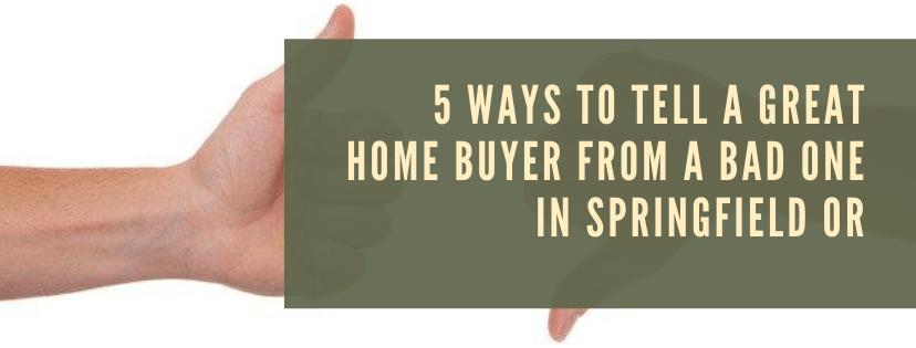 We buy houses in Springfield OR