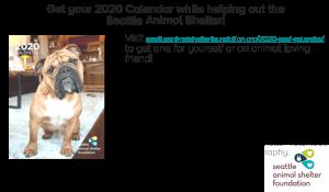 Seattle Animal Shelter Calendar