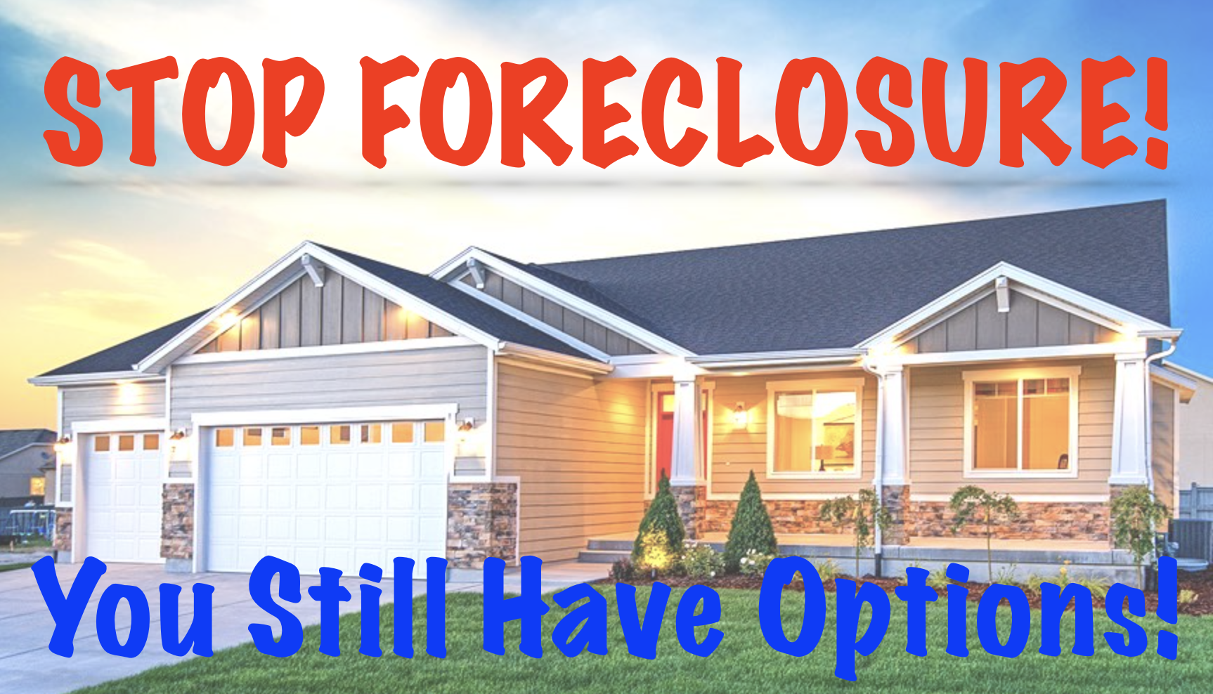 selling a house to avoid foreclosure