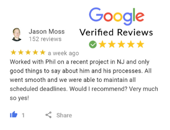 Jason Moss Google Review For Phil Buys Houses Fast