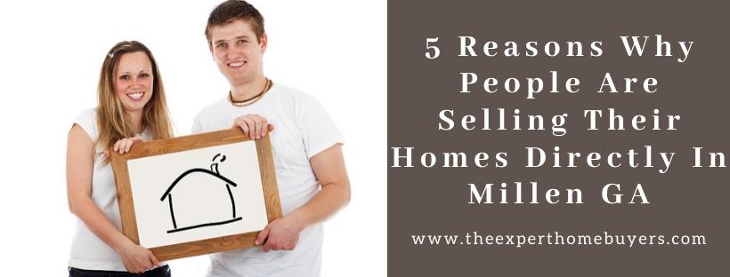 We buy houses in Millen GA