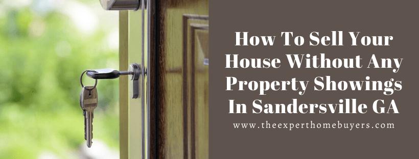 Cash For Houses In Sandersville GA