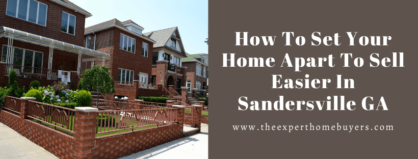Sell your house in Sandersville GA