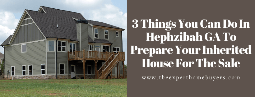 Sell your house in Hephzibah GA