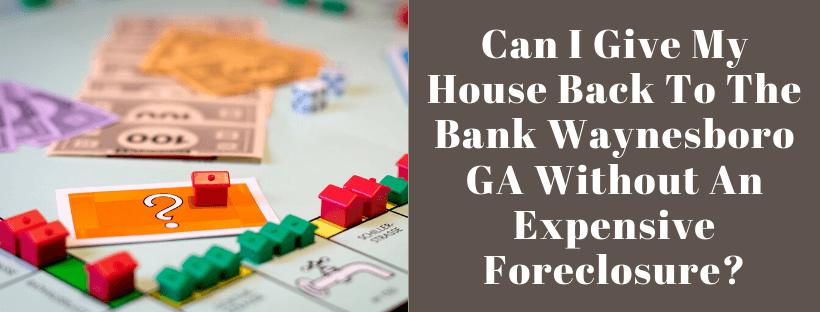 Sell My House In Waynesboro GA