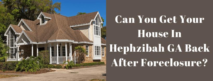 Sell My House In Hephzibah GA