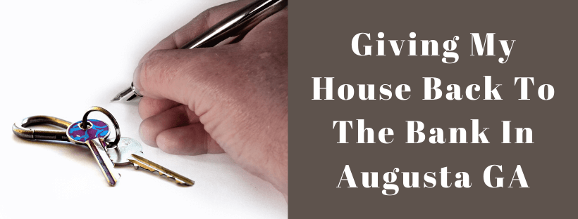 Sell My House In Augusta GA