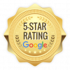 5 star rated on google