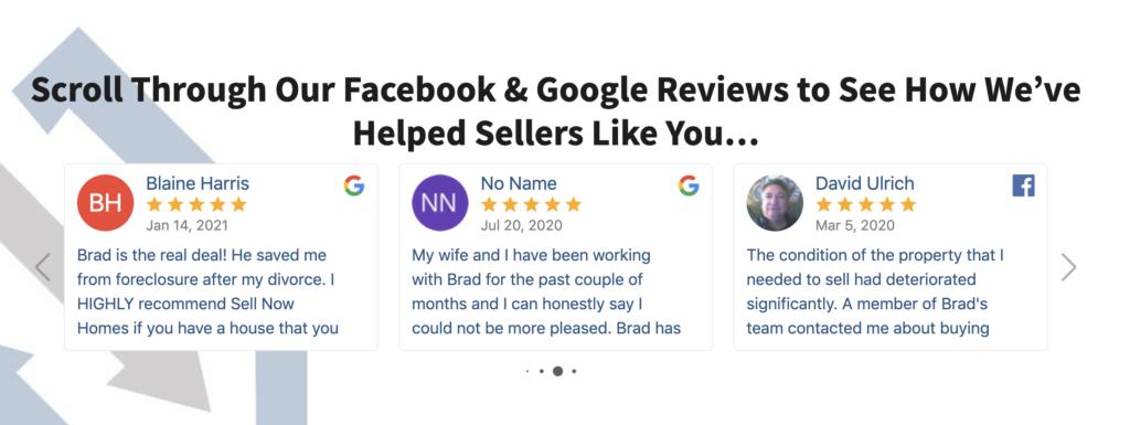 great reviews house buyer wichita