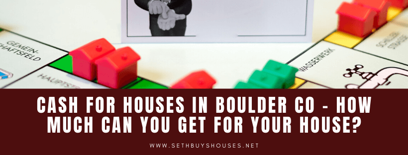 Sell my property in Boulder CO