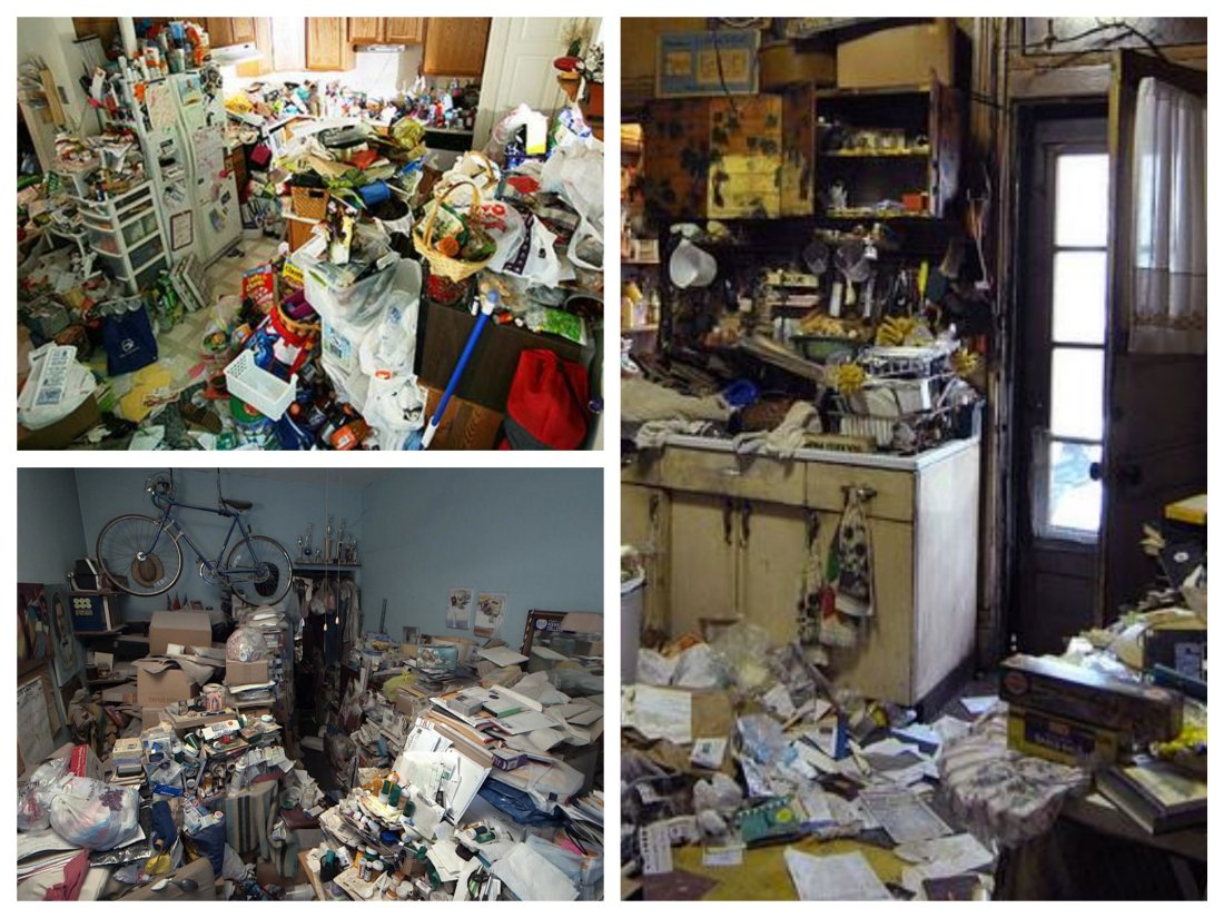 Hoarding Homes in California