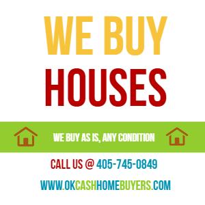 We Buy Houses in Del City - Oklahoma