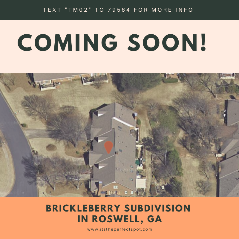Brick Townhome in Roswell