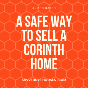 a safe way to sell a corinth home