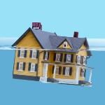 foreclosure effects in | sinking home