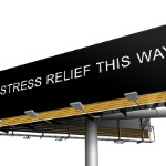 help for foreclosure in   stress relief billboard