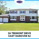 26 Tremont Drive, East Hanover NJ