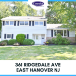 361 Ridgedale Ave., East Hanover NJ