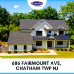 686 Fairmount Ave, Chatham Township NJ