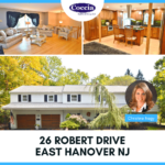 26 Robert Drive, East Hanover NJ