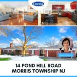 14 Pond Hill Road, Morris Township NJ