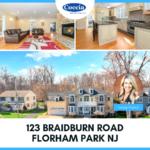 123 Braidburn Road, Florham Park NJ