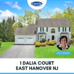 1 Dalia Court, East Hanover NJ
