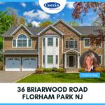 36 Briarwood Road, Florham Park NJ