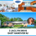 3 Jaclyn Drive, East Hanover NJ