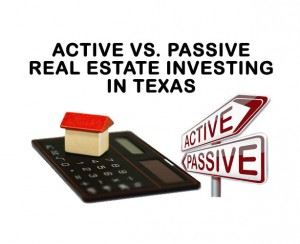 Active vs Passive Real Estate Investing , investment property, joint venture