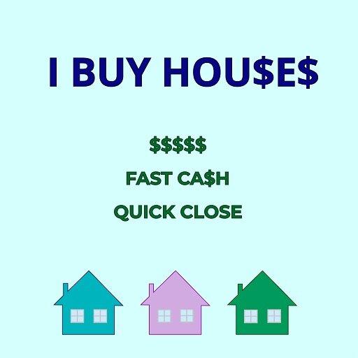 We buy houses as is