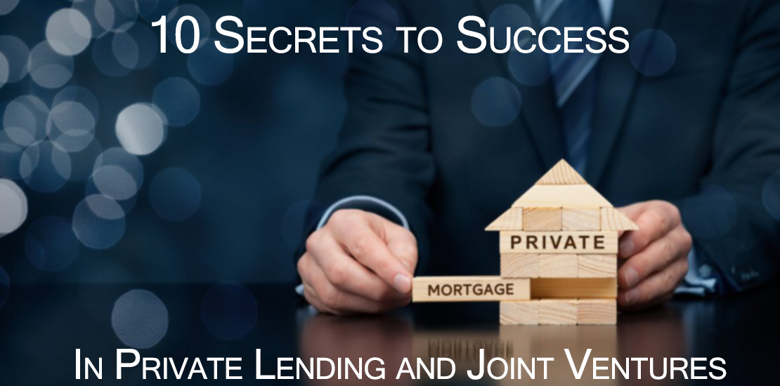 10 Keys To Success In private lending