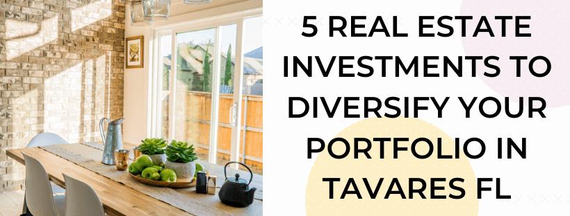 We buy houses in Tavares FL