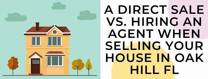 We buy houses in Oak Hill FL