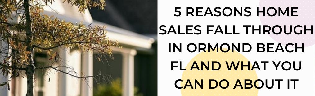 We buy houses in Ormond Beach FL