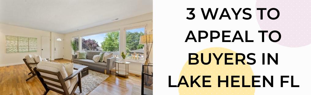 We buy houses in Lake Helen FL