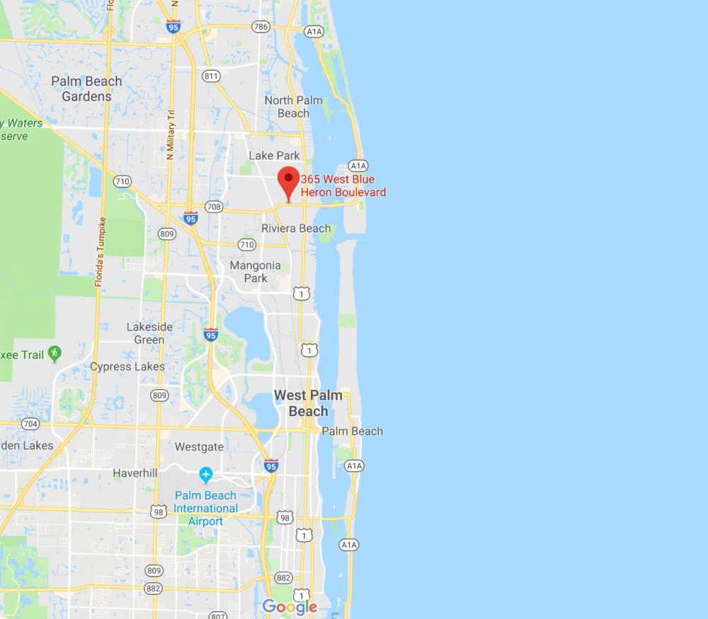 365 W Blue Heron Blvd, West Palm Beach, FL 33404, USA ... Map Of W Palm Beach on map of palm bay, map of palm beach gardens, map of palm springs, map of palm harbor, map of palm coast,