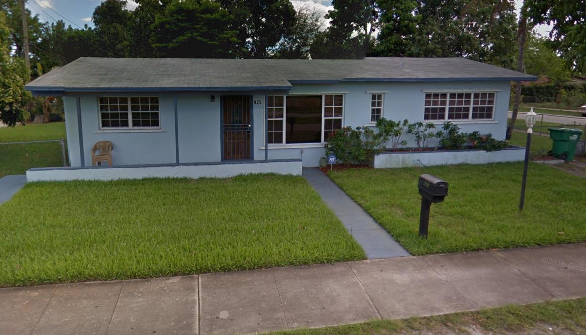 820 NW 181st Terrace Miami Gardens, FL 33169
