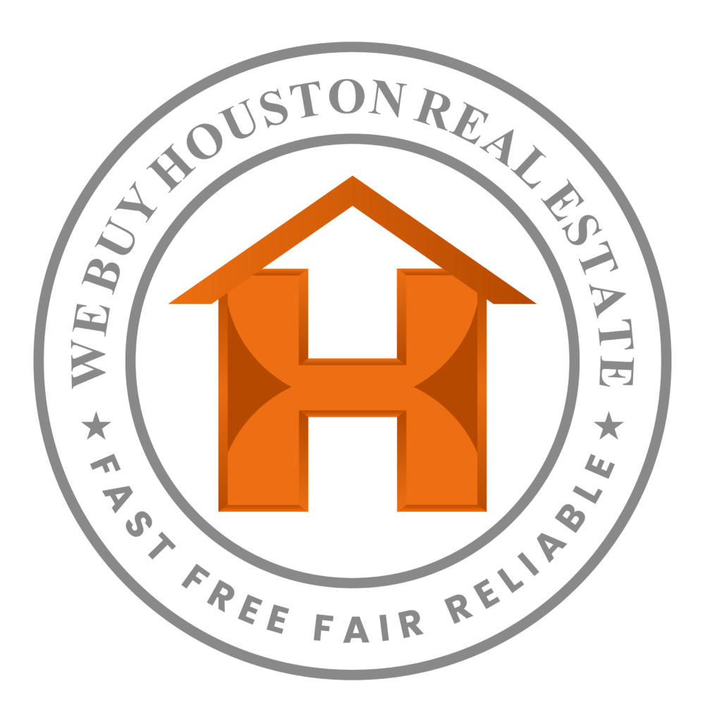 We buy Houses In Houston Logo. Fast Free Fair Reliable.