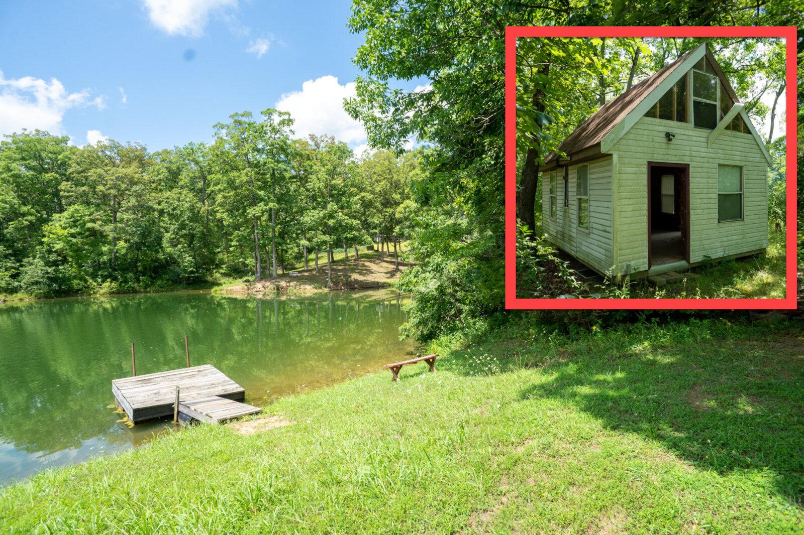 lakefront cabin for sale in missouri
