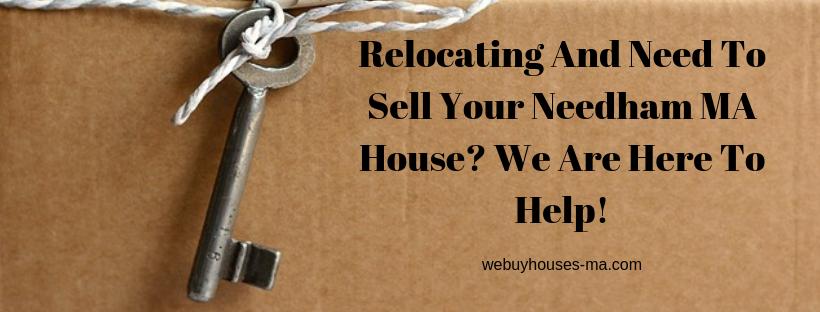 We buy houses in Needham MA