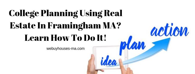 We buy houses in Framingham MA