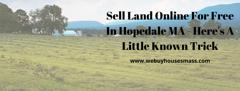 We buy houses in Hopedale MA