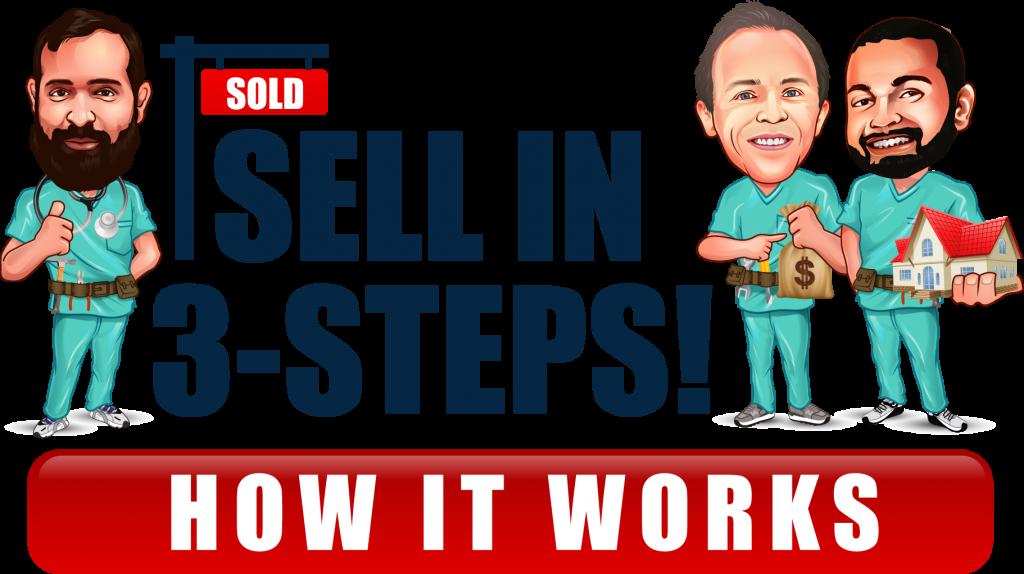How we buy houses in 3 steps