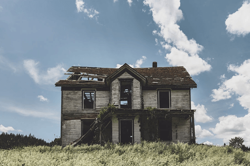 options to sell home with demolition or nuisance lien against real estate