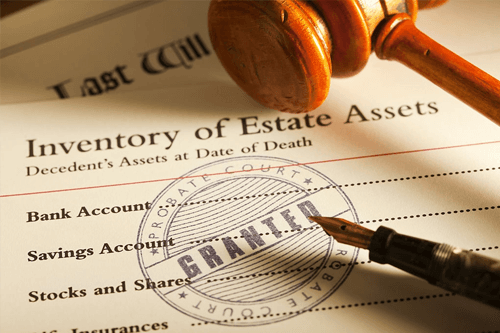 Inventory of estate assets for probate court jacksonville fl