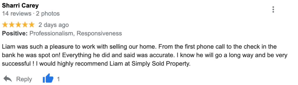 Simply Sold Property Reviews