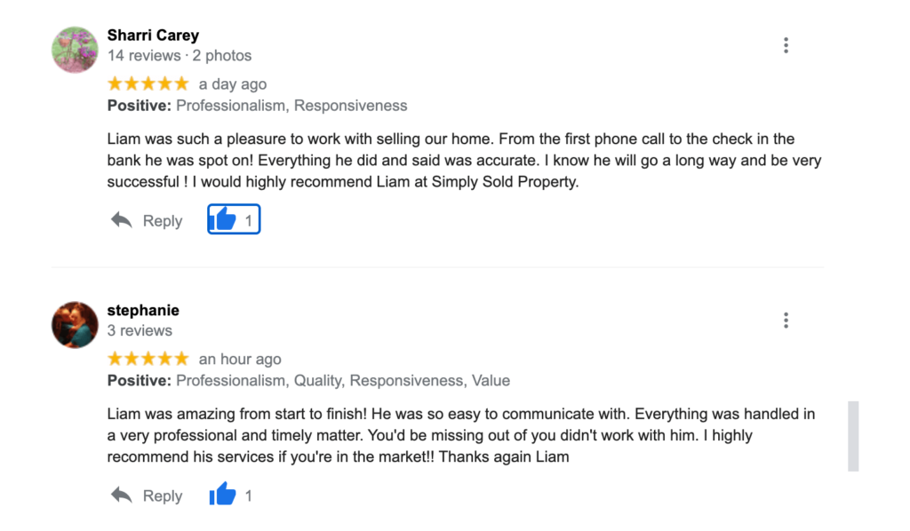 Simply Sold Reviews