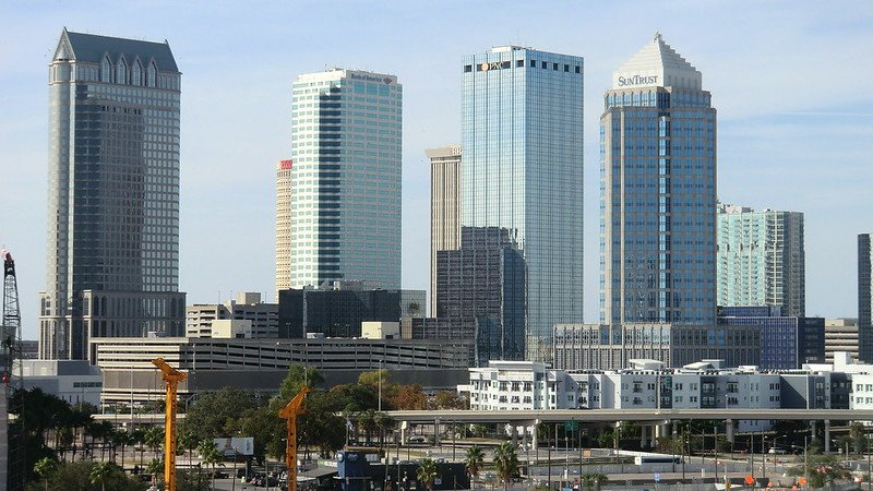 Downtown tampa florida